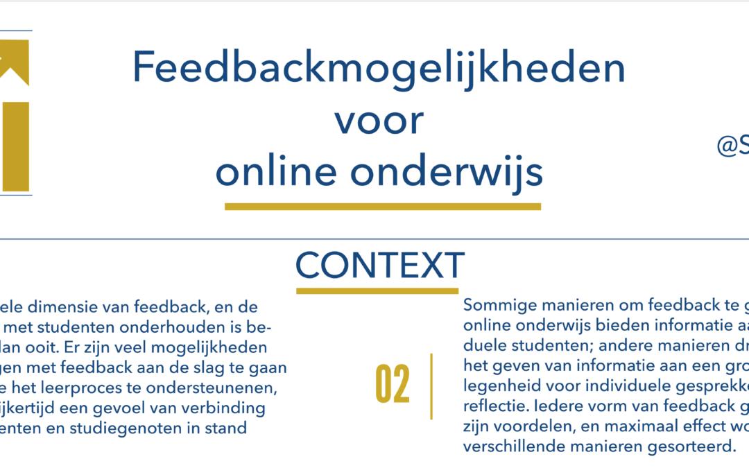Poster Online Feedback